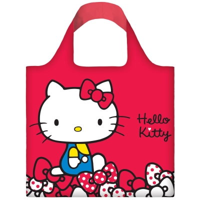 LOQI 春捲包│Hello Kitty - 紅 KT04