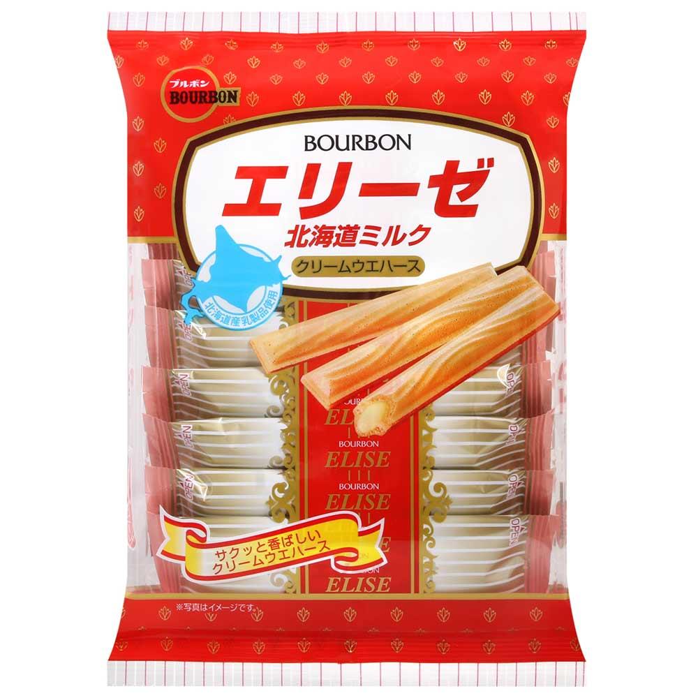 Bourbon北日本 愛麗絲北海道牛奶夾心酥(64.8g)