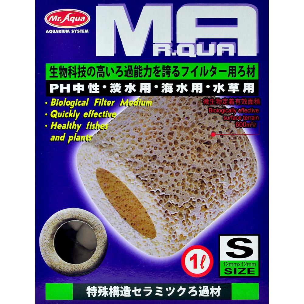 《Mr.Aqua》水族先生培菌利器生物科技陶瓷環 1L/S號 淡海水適用