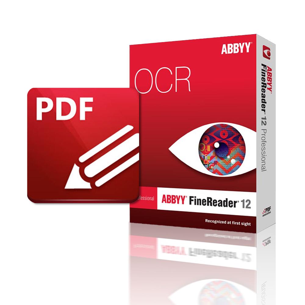 ABBYY FineReader12+PDF-XChange Editor Plus組合包