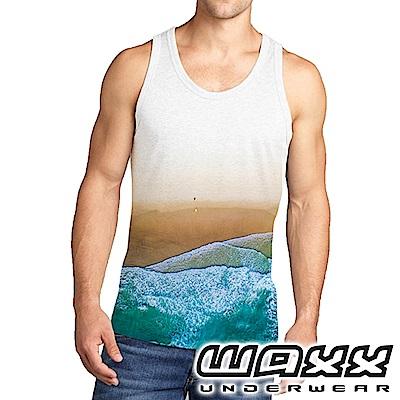 WAXX 熱浪系列-夏天的浪花限量男背心