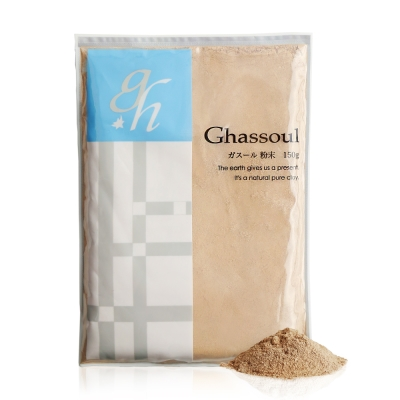 日本 奈婭蒂 GHASSOUL摩洛哥天然火岩泥粘土面膜150G(粉狀)(效期至2019/1/1)