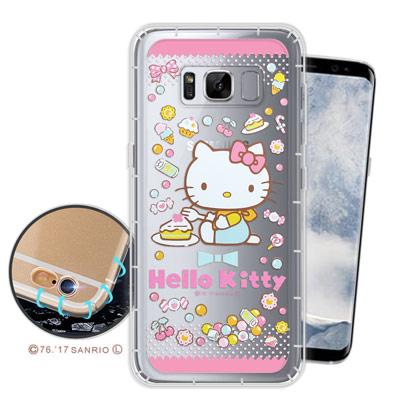 三麗鷗授權凱蒂貓 Samsung S8+/S8 Plus 空壓氣墊手機殼(糖果K...