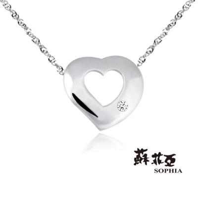 蘇菲亞SOPHIA - 永愛純銀項鍊
