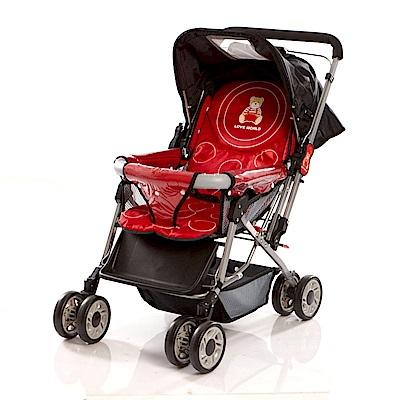 愛的世界 雙向嬰兒手推車-台灣製-
