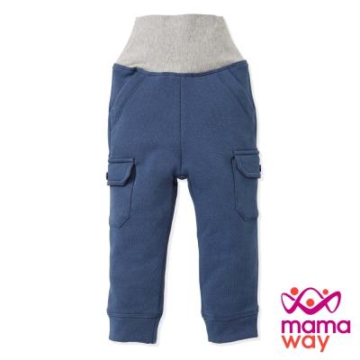 Mamaway 口袋刷毛護肚褲(共四色)