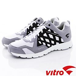 Vitro韓國專業運動品牌-Mode StepⅢ-頂級專業慢跑鞋-灰(男)