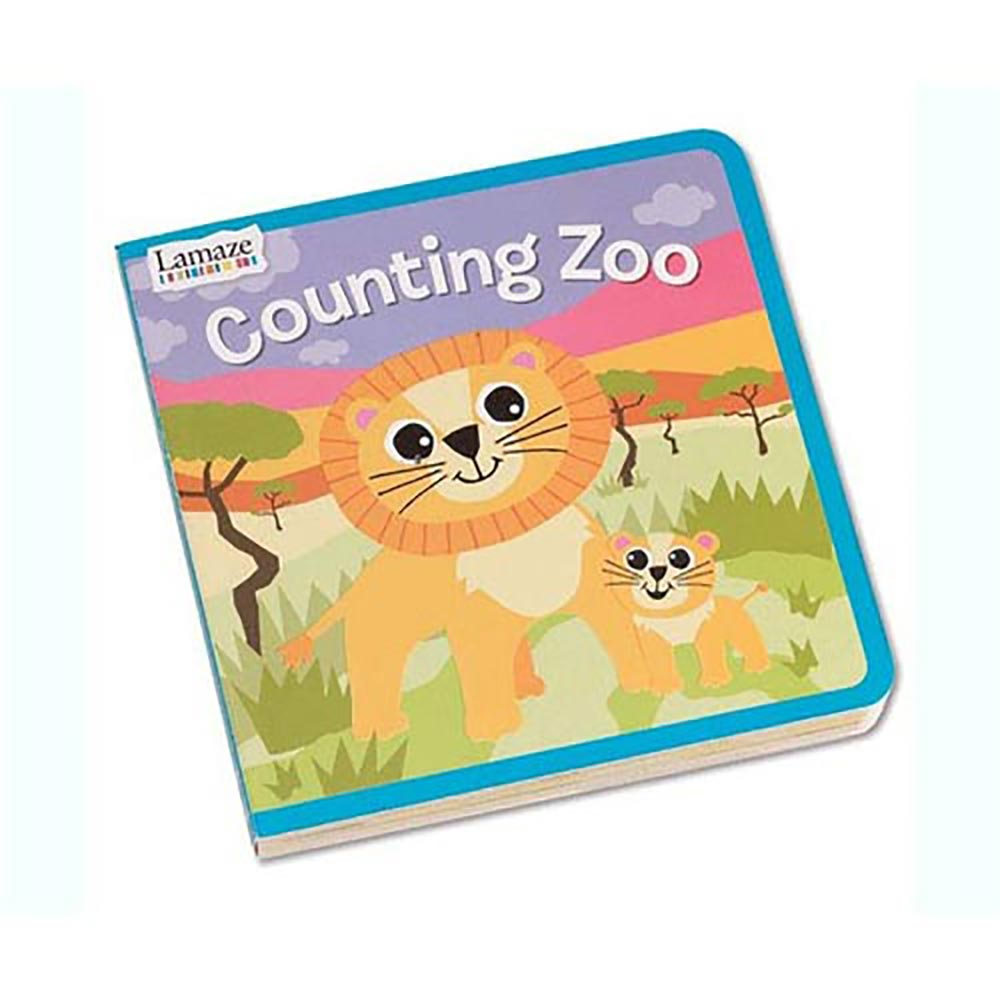 Lamaze拉梅茲嬰幼兒玩具 - 與可愛動物一起來算數