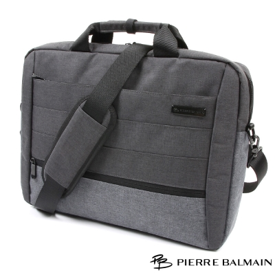 皮爾帕門PB-防潑水輕量公事包-肩背-手提