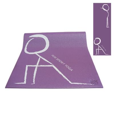 《Fun Sport》快樂操伸展瑜珈墊(氣質紫)送立樂沛背袋