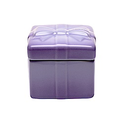 LE CREUSET 琺瑯瓷器禮物烤盅(粉彩紫)