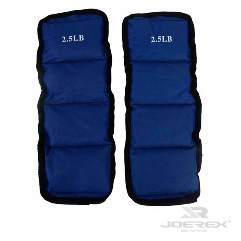 日本品牌【JOEREX】5磅綁腿沙袋/沙包組-JW05