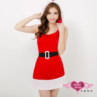 耶誕服  北歐女孩 狂熱聖誕舞會角色服(紅F) AngelHoney天使霓裳