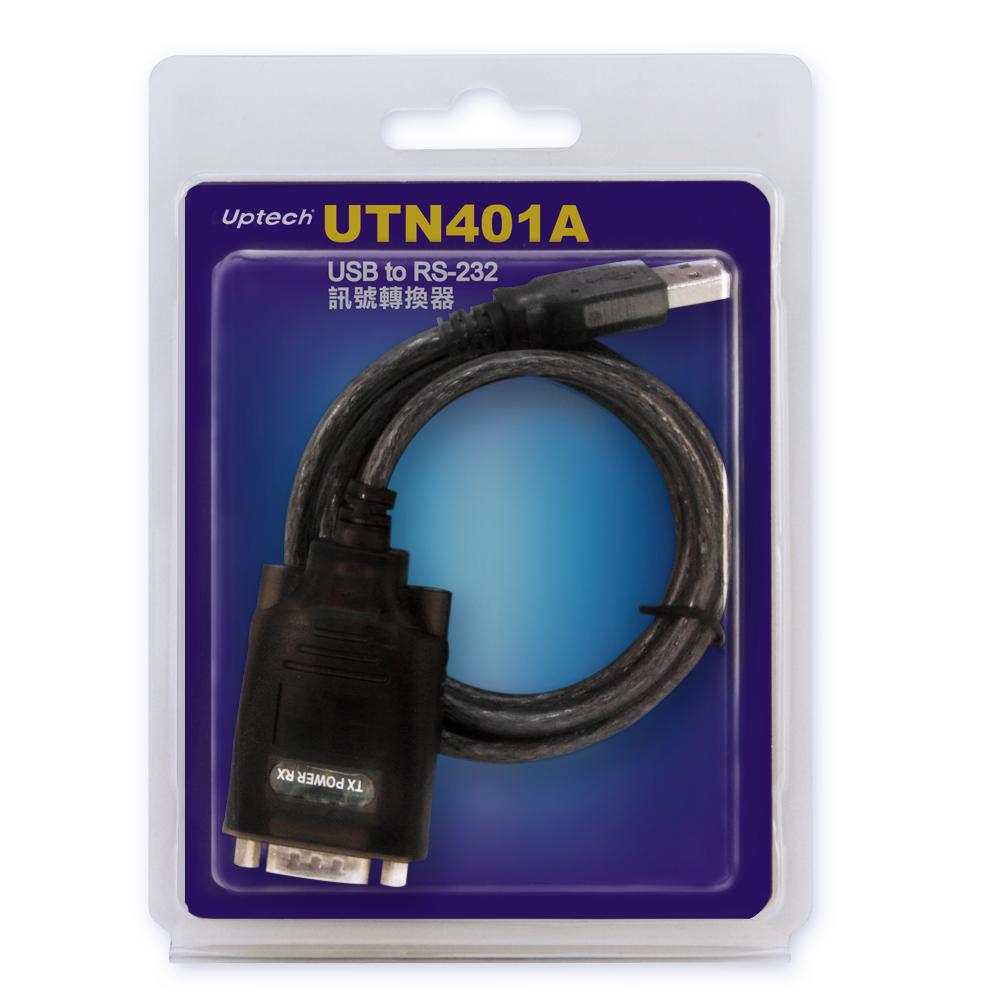 Uptech UTN401A  USB to RS-232訊號轉換器