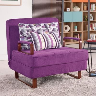 Bernice-馬芬布沙發床(送靠枕+抱枕)