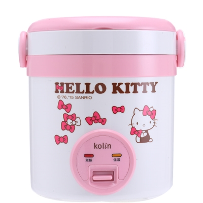 歌林Hello Kitty隨行電子鍋(一人份)KNJ-MNR1230