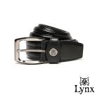 Lynx - 山貓極品經典熟男款穿針式真皮皮帶