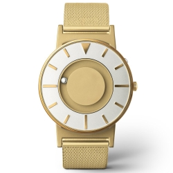 EONE 美國設計品牌 Bradley 觸感腕錶 金色系列- 尊貴金/40mm