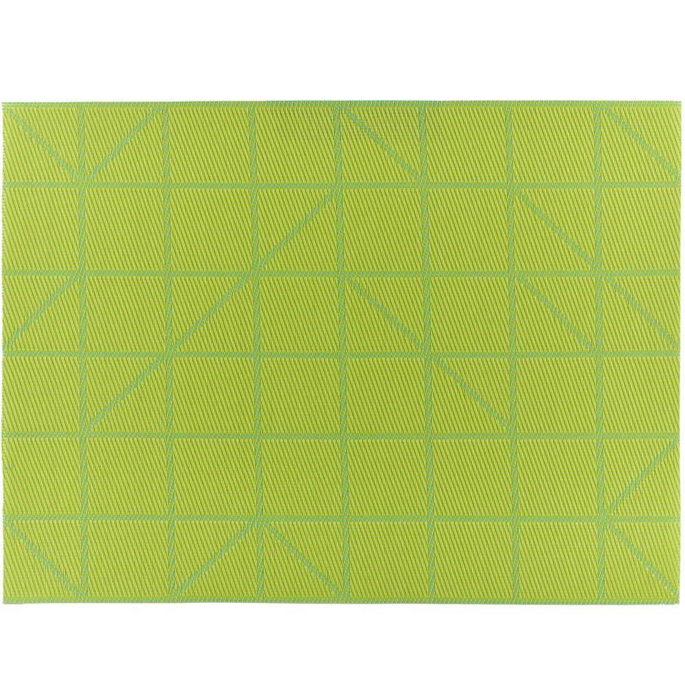 ZONE 棋盤餐墊(草綠)