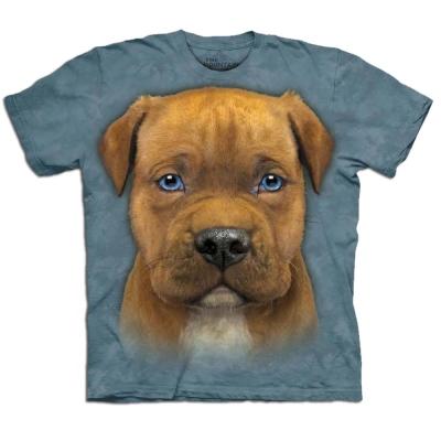 摩達客 美國進口The Mountain小比特犬純棉短袖T恤