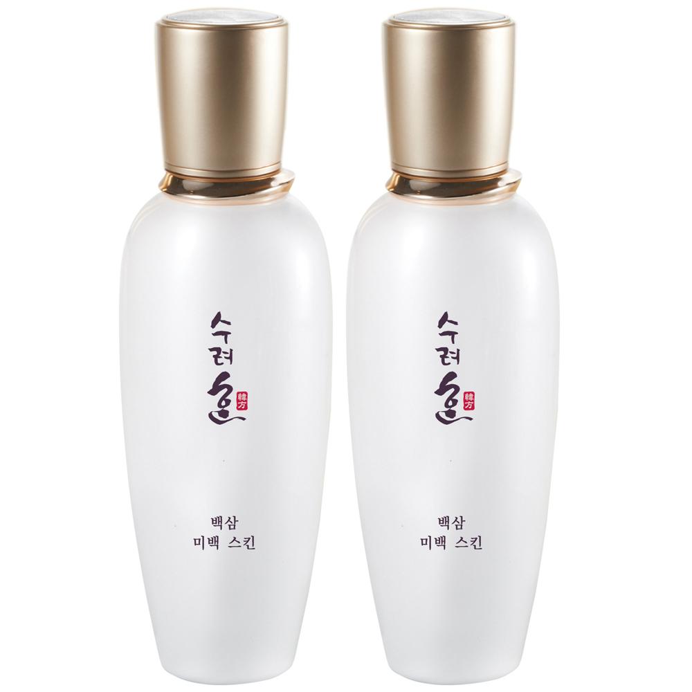 秀麗韓 雪肌白蔘沁白水凝露130ml(買一送一/效期2018/04)