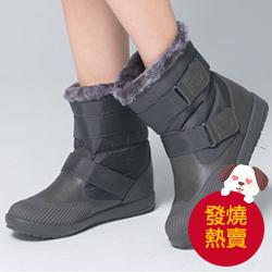 韓製防水魔鬼氈雪靴