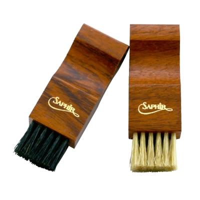 【SAPHIR莎菲爾 - 金質】上蠟專用刷-皮革上蠟專用,幫助鞋蠟快速均勻分布