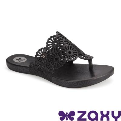 Zaxy 巴西 女 INTENSE HOLIDAY 繽紛假期夾腳拖鞋  (黑)