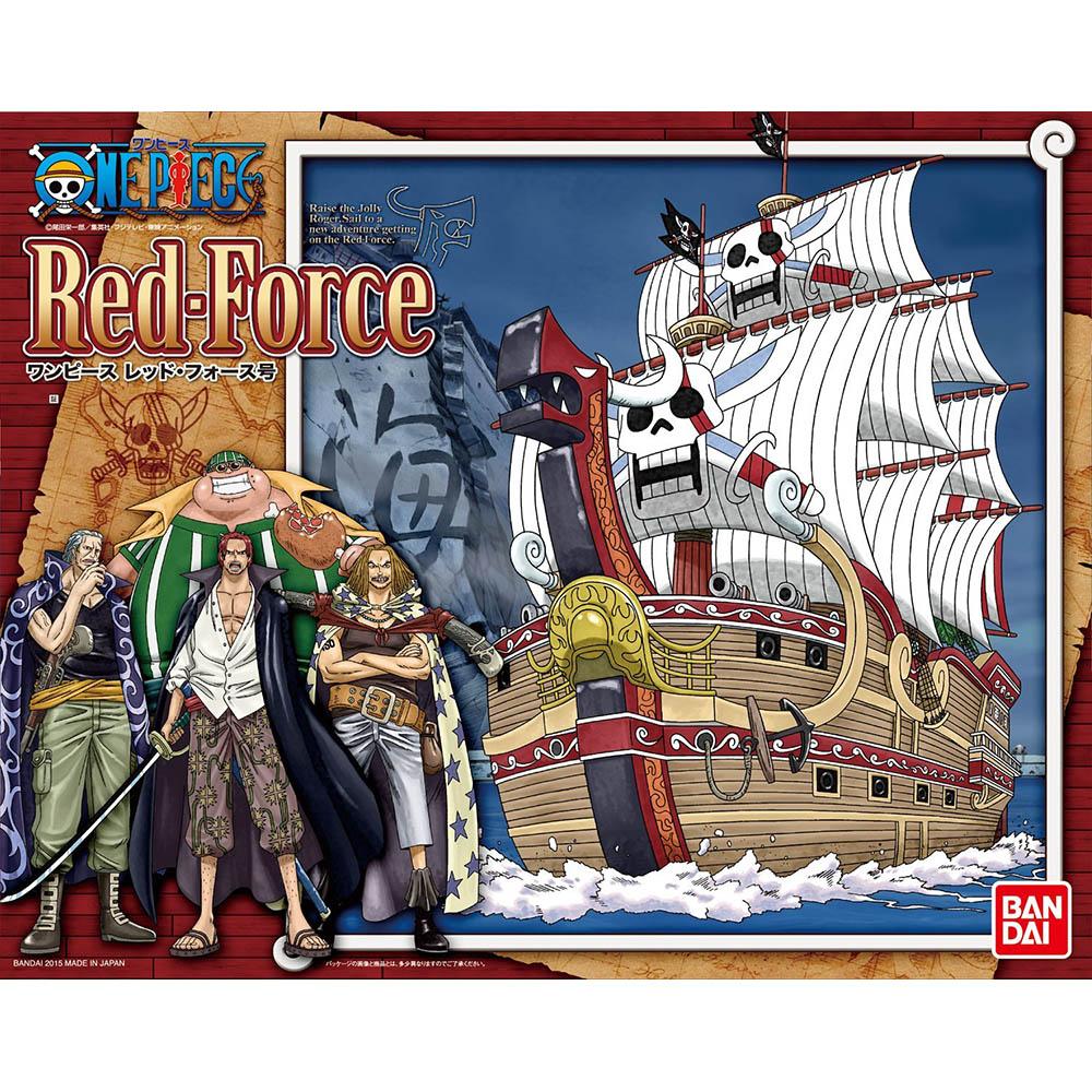 BANDAI 航海王 組裝模型四皇紅髮傑克 紅色勢力號