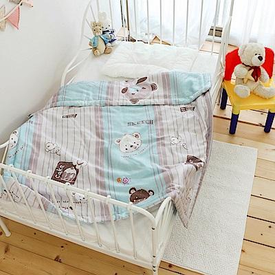 絲薇諾 兒童天絲涼被 藍色小熊-105*120cm @ Y!購物