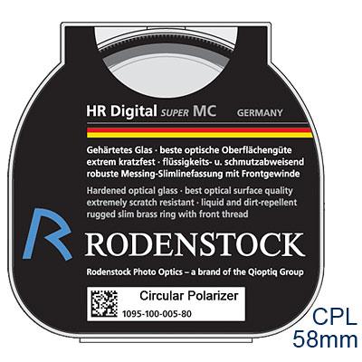RODENSTOCK-HR-Digital-CPL-M58環型偏光鏡-公司貨