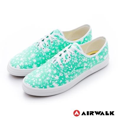AIRWALK-女-復古花絮紛飛-純棉帆布鞋