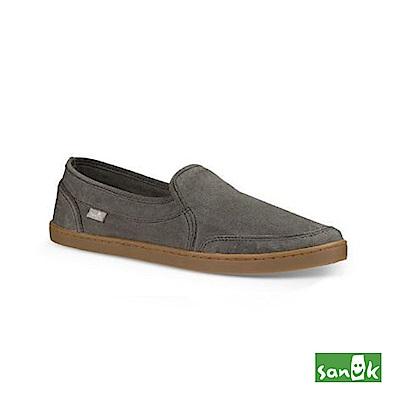 SANUK 復古水洗帆布休閒鞋-女款(鐵灰色)