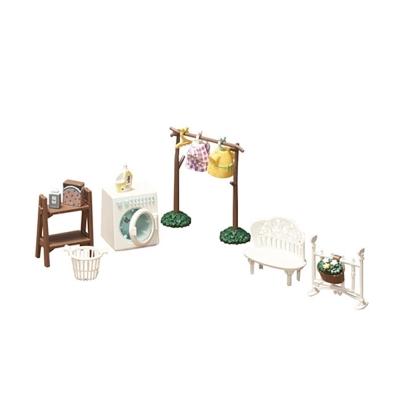 BANDAI 組裝模型 Haco Room 小熊學校 洗衣場景組