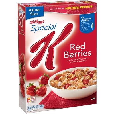 家樂氏 Special K香脆麥米片-草莓(317g)