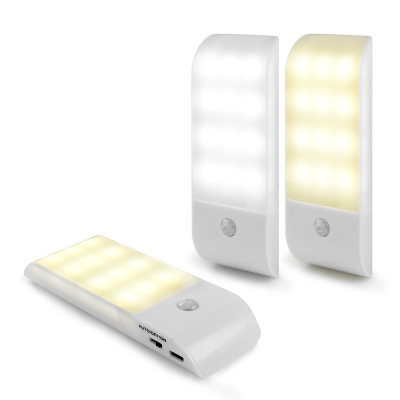 aibo USB充電式 迷你智能LED人體感應照明燈(LI-10)