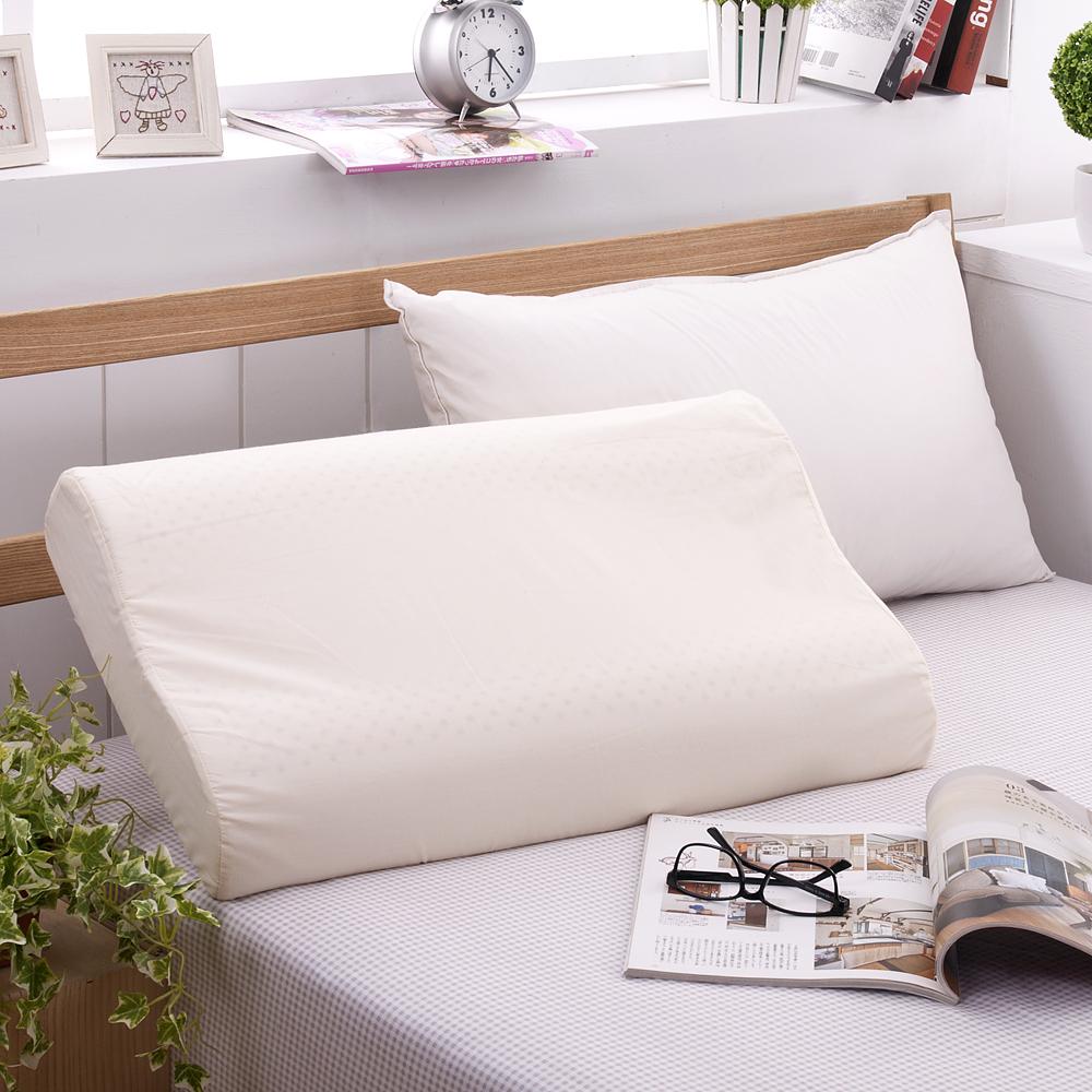 法國Jumendi-純淨宣言 大尺寸AA級波浪工學天然乳膠枕-1入