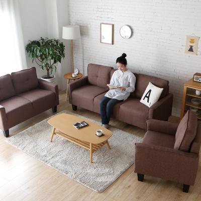 H&D 莉絲1+2+3簡約舒適沙發組-3色