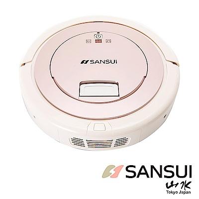 SANSUI山水UV殺菌燈智慧掃地機器人附虛擬牆SC-A6