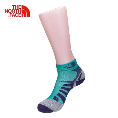 The North Face北面藍紫灰色兩入舒適透氣戶外徒步運動襪