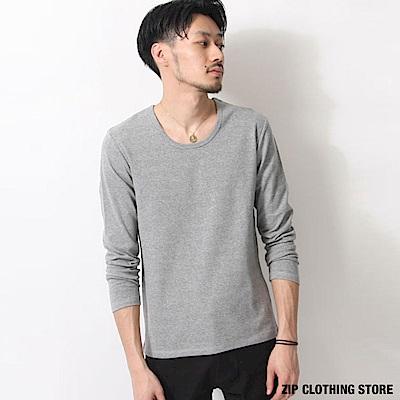 基本款長袖T恤(7色) ZIP日本男裝