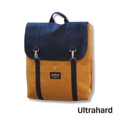 Ultrahard 閱讀作家後背包系列-莫泊桑New(藍褐)