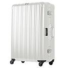 日本 LEGEND WALKER 6201L-69-28吋 電子秤行李箱 消光白