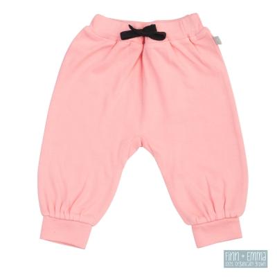 美國 FINN & EMMA 有機棉燈籠褲 (玫瑰粉)