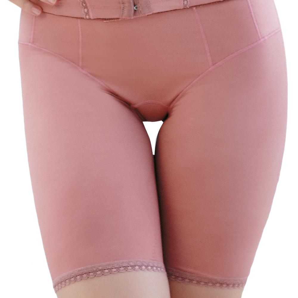 思薇爾 柔塑曲線系列高腰長筒中重機能束褲(薔薇木)