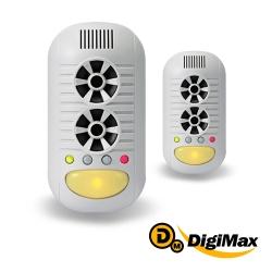 DigiMax  強效型四合一超音波驅鼠器  2入組 UP-11H