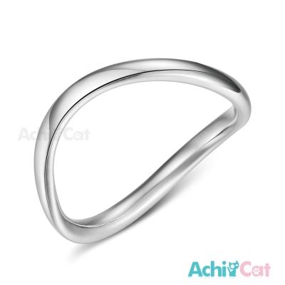 AchiCat 925純銀戒指尾戒 簡單心情