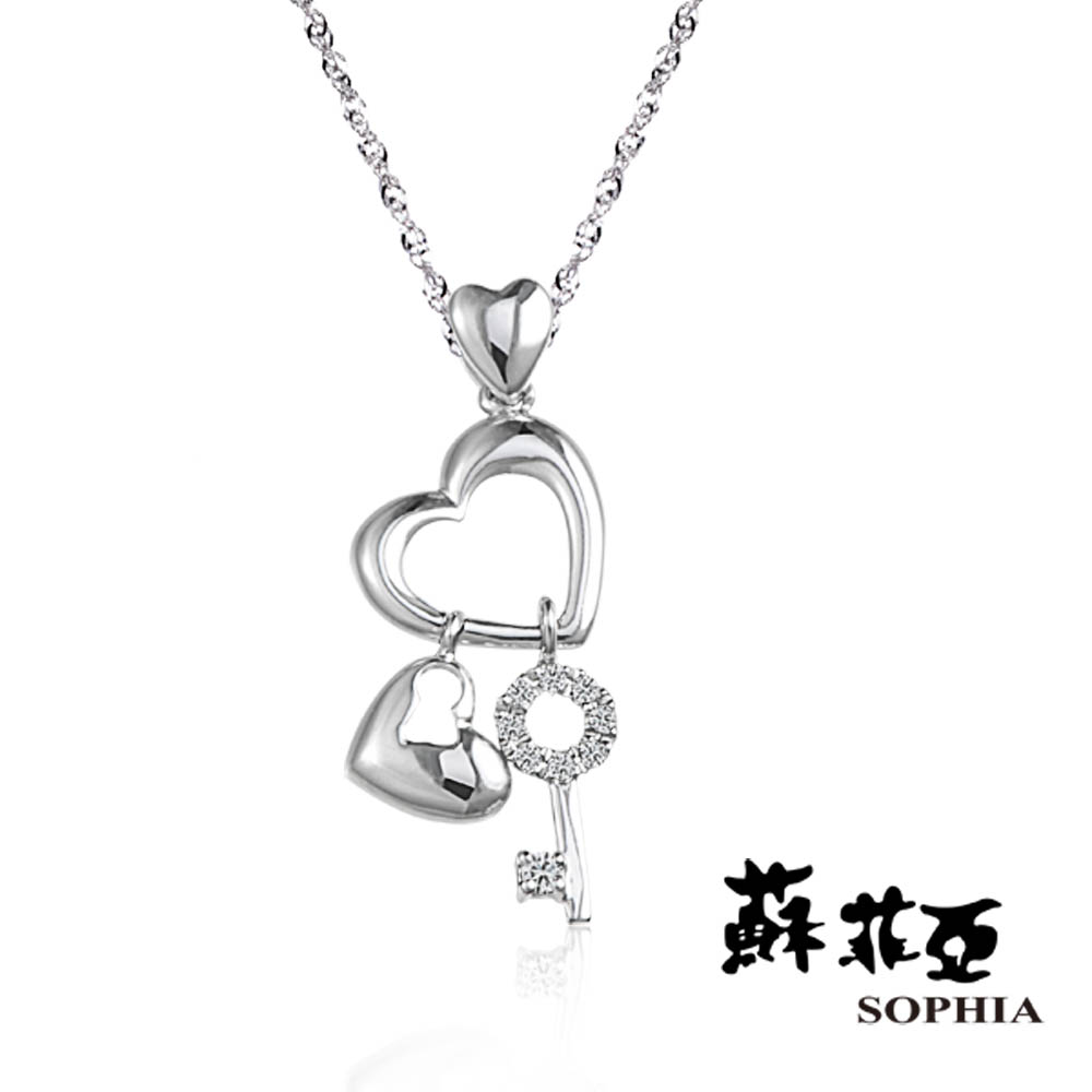 蘇菲亞SOPHIA 鑽鍊-菲比鑽石項鍊(共2色)
