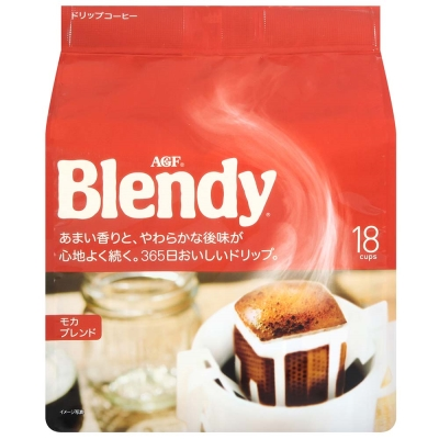 AGF Blendy濾泡式咖啡-摩卡(7gx18入)