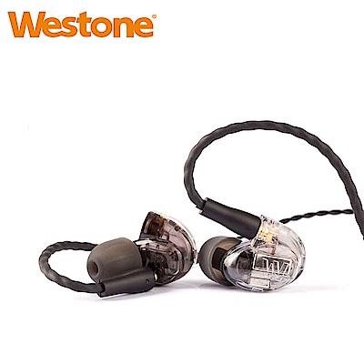 Westone UM Pro 50 New 五單體可換線監聽級入耳式耳機-透明